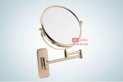 Зеркало косметическое Gold
